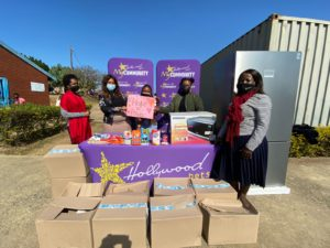 Tinley Manor Primary School receives a Fridge and Food from Hollywoodbets HopeIsPowet campaign