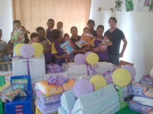 Hollywoodbets Parliament Street (Port Elizabeth) with donations made to the Zanethemba Children's Haven